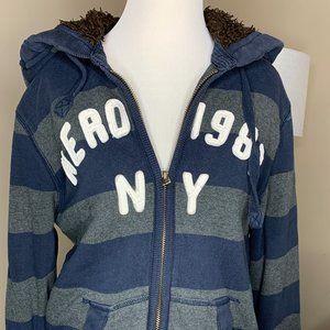 Aeropostale sherpa-lined hoodie, Men's medium